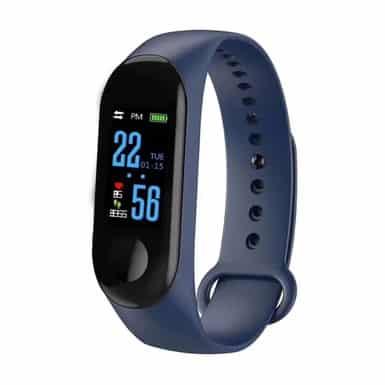 bracelet connecté bc2 bleu - montre connexion