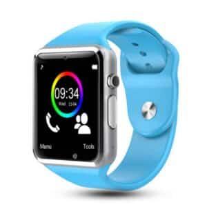 bracelet connecté enfant bce1 bleu - montre connexion