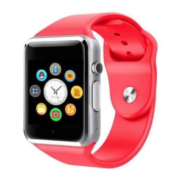 bracelet connecté enfant bce1 rouge - montre connexion