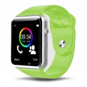 bracelet connecté enfant bce1 vert - montre connexion