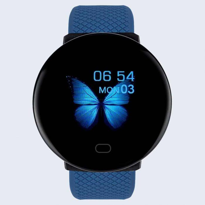 montre connectée mc1 bleu - montre connexion