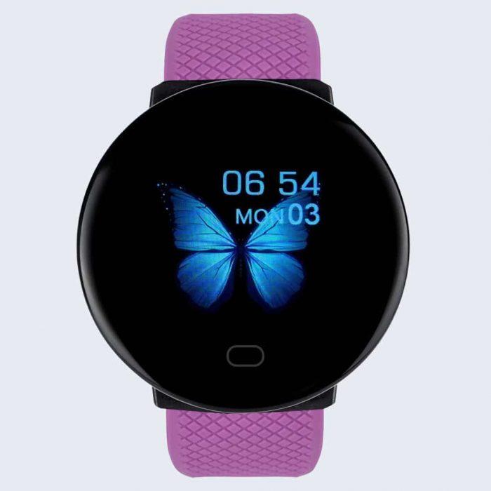 montre connectée mc1 violet - montre connexion